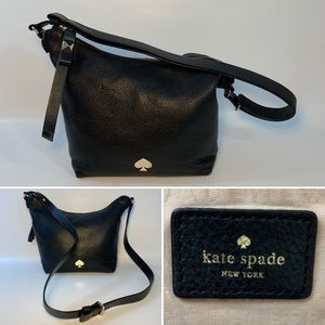 Kate Spade black shoulder /crossbody bag